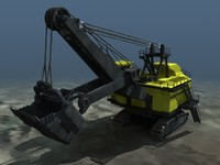 Mining Shovel Animated