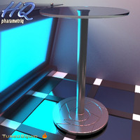 3d table 00 model