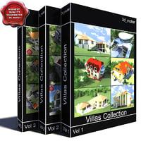 villas vol4 3d model