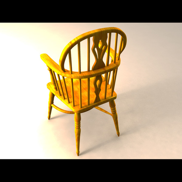 English windsor chair yeoman 3d model for International seating and decor windsor