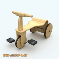 childrens bike 3d model