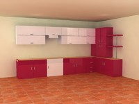 3ds max kitchen furniture