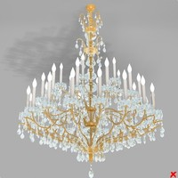 3ds max chandelier lamp