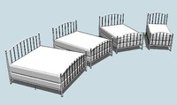 Open Rail Bed Kit