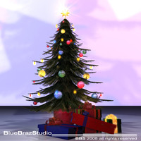 3ds max christmas tree