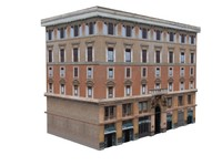 european building house 3d 3ds