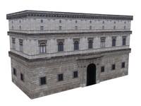 3dsmax castle building