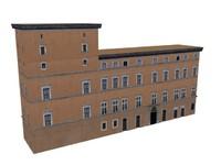 3d model european classic apartments