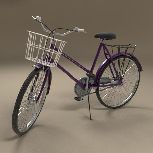 c4d bibycle bike