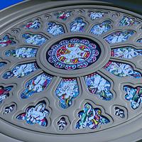 3d gothic window