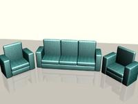 maya green sofa