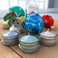 maya christmas set