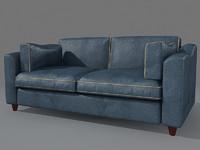 sofa baxter kennedy 3d max