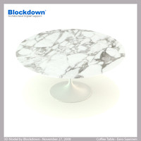 eero saarinen table 3d max
