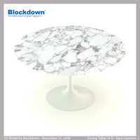 ES Dining Table 54D