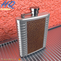 hip flask 07 3d max