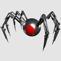 x mechanical robot spider
