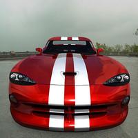 dodge viper gts 3d model
