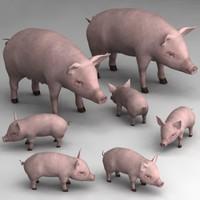 pig family 3ds