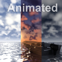 3D Animated Ocean Scene Collection.zip