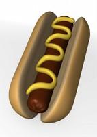 3dsmax hot dog