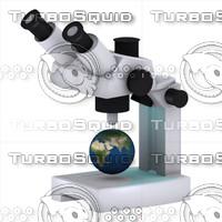 microscope 3d max