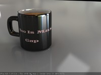 obj coffee cup