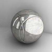 petanque ball 3ds