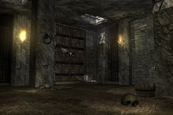 Castle Dungeon 3d Ma