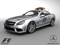 3d model f1 2009 safety car