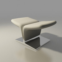 ribbon ottoman F582 by Pierre Paulin Artifort
