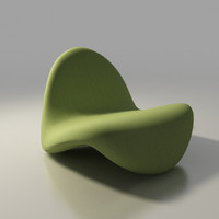 tongue chair by Pierre Paulin Artifort