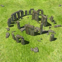 3d model ultra accurate stonehenge stone