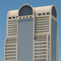 3dsmax skyscraper building tower