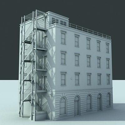 3d model city building - LondonStreet_A007... by xohk