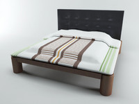 3ds max bed modern