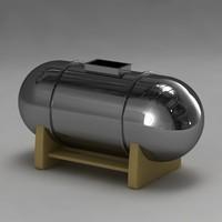 3d model of boiler