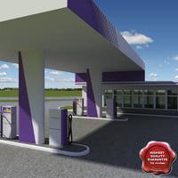 maya gas station v13