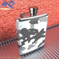 3d hip flask 11