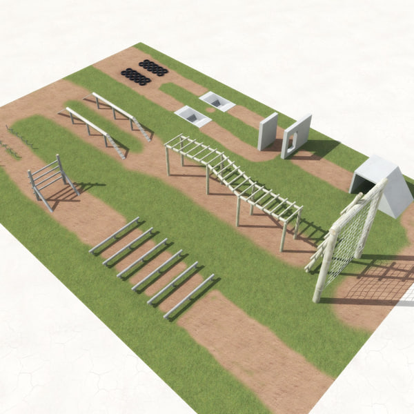 Military+Obstacle+Course+Design obstacle course 3ds - Obstacle Course ...