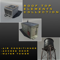 Roof Top Elements Collection