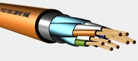 3d model of s-ftp signal cable