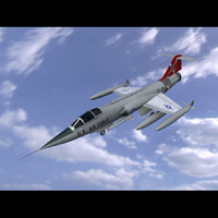 3d f104 starfighter f 104