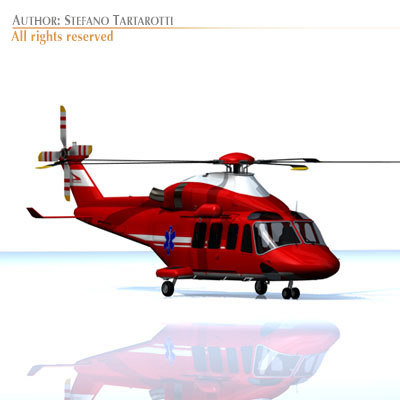 AW139 air ambulance
