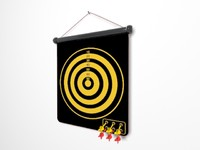 3d dart dartboard sports
