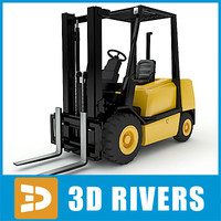 Forklift by 3DRivers