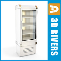3ds max refrigerating freezer