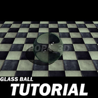 3d model step realistic glass