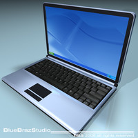 3ds generic notebook laptop