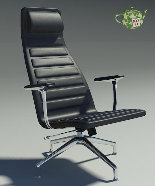design armchair 3d 3ds